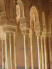 palacio de los leones, alhambra (danielnanreik) Tags: world madrid blue sleeping white mountain black color roma tree castle church beauty architecture river de real spain catholic view cathedral roman stadium soccer military south muslim disney seville andalucia aqueduct spanish toledo seats segovia alhambra granada universidad alcazar vista moor academy futbol fortress ronaldo alcala bernabeau medievial hernares