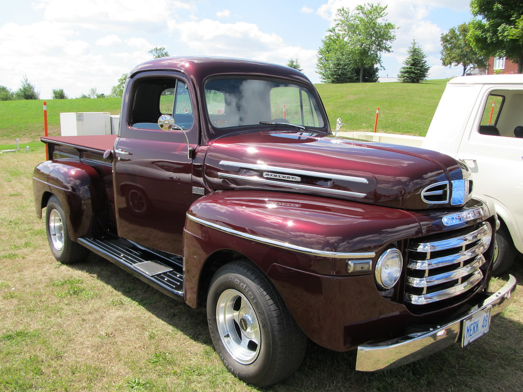 We Love Ford's, Past, Present And Future.: Mercury Truck History