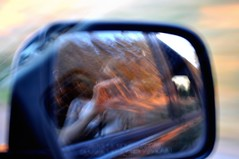 Side View 7 (Celia Luz Santos) Tags: selfportrait reflection me car drive mirror nikon creative roadtrip sideview carmirror starvingartist celialuz nikond5000 celiasantos artchismo celialuzphotography celialuzsantos celialuzartist artistfrombrooklyn