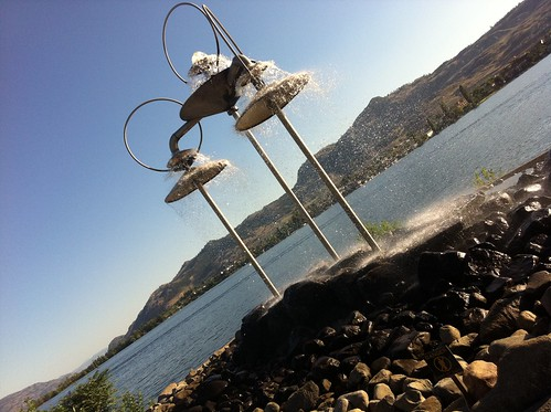 Water fountain - Osoyoos