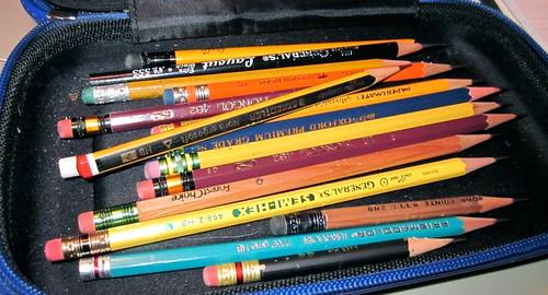 Pencil clutter
