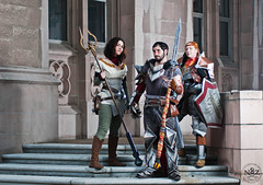 Dragon Age Group @ UW 02 (N8Zim) Tags: 2 washington dragon cosplay bethany age armor hawke aveline da2