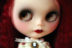 RS's stock browns (china-lilly *no FMs*) Tags: crimson rose mohair blythe neo custom takara narcissa raspberrysorbet reroot chinalilly blythelaboratory indyandtheninja