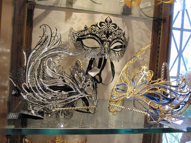Filigree Masks