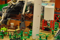 Numereji 2421: Yupa's Hull Barn and Yard (Yupa-sama) Tags: lego display convention 2011 2421 brickcon numereji