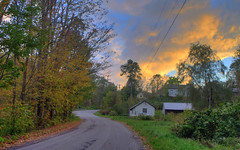 Freedom Sunset; Freedom, Maine (Jody Roberts) Tags: county sunset freedom day pentax cloudy maine waldo hdr kx photomatix