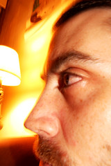 Vivid (inspector.shellenberger) Tags: glow schiele eyeball bulging