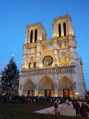 Notre Dame (meganongfl) Tags: christmas old paris france building december notre dame