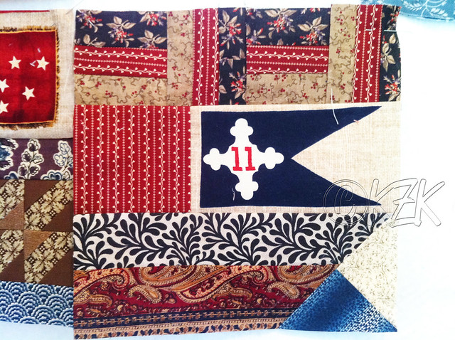 IMG_2936 Gettysburg Battle Flag quilt block