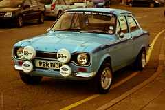 Ford Escort MKI [2] (peachyboii) Tags: blue classic ford car wales canon eos 1 mark rally motor beaumaris escort lightroom 40d fordescortmk1