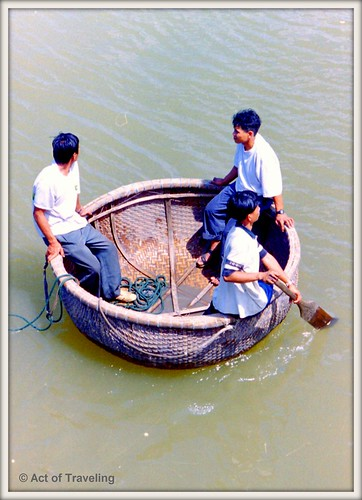 On the river near Hoi An, Vietnam