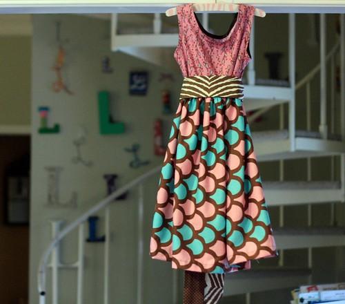 fancy sash dress