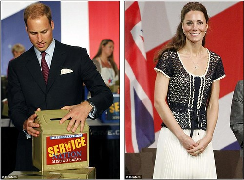 We salute you William and Kate wrap up their U.S. tour by paying  tribute to brave Americans who serve in the military  6