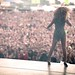 Beyonce on stage at Oxegen 2011