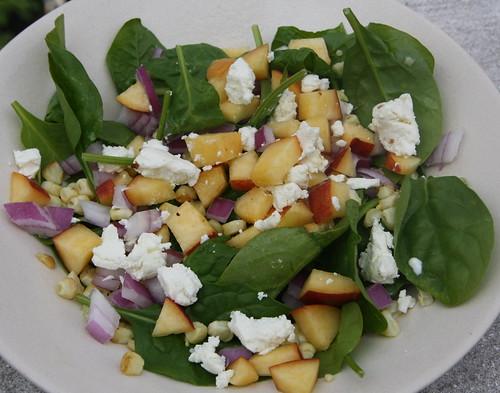 veg version of salad