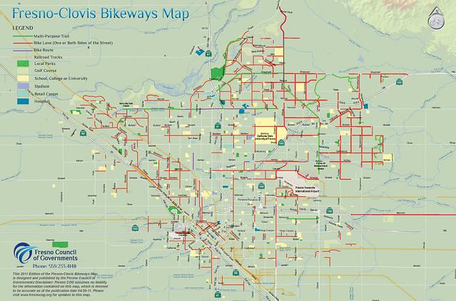 Fresno-Clovis Metro Bikeways 2011