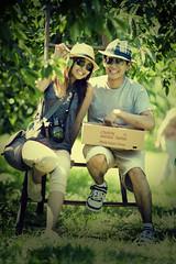 Farmers (kaigakyoshite) Tags: portrait love photography couple expressive