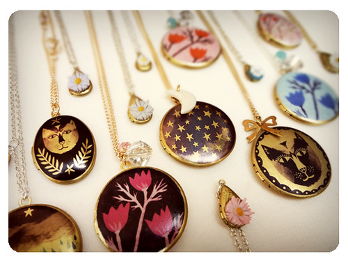 Illustrated Lockets