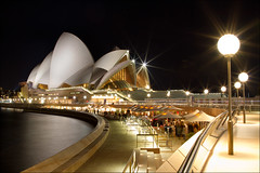 Sydney Opera House (Alan Rappa) Tags: house night canon lights harbor opera sydney australia landmark nightime 7d downunder 24mmf14