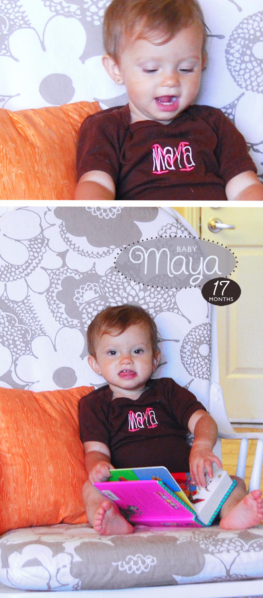 Maya 17 Months