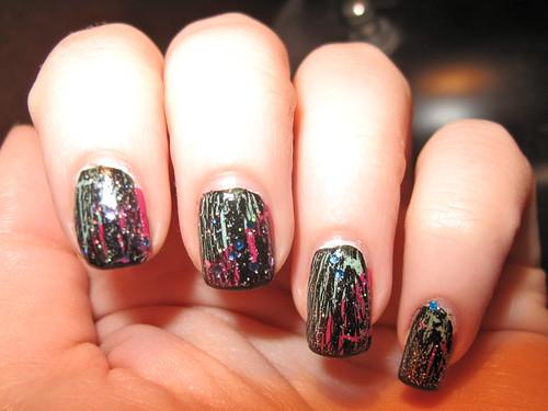 Livingaftermidnite - OPI Shatter Nails 4
