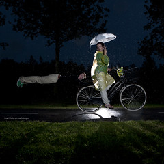 158 of 365 (Morphicx) Tags: bike levitation canon5d 365  canon2470f28l strobist canon580exii cactusv4 morphicx 365shotsin365days judithmirja