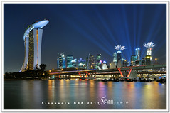 singapore (fiftymm99) Tags: show park bridge reflection building skyline river one hotel boat nikon singapore day fireworks rehearsal parade celebration national land ndp cbd fullerton merlion performances ntuc chartered d300 uob maybank 2011 captial stnadard fiftymm99 gettyimagessingaporeq2