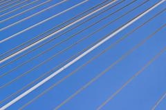 white lines (Daniel Kulinski) Tags: city bridge blue sky urban cloud lines design construction europe image 10 space shapes evil samsung poland structure minimal line clear frame ten warsaw civic build minimalistic nx urbanshapes samsungimaging nx10 samsungnx10 gettypoland1
