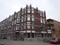Bergselaan - Vrijenbansestraat Rotterdam (oerendhard1) Tags: street houses netherlands architecture corner rotterdam streetcorner cornershop straathoek hoekhuis bergselaan vrijenbansestraat