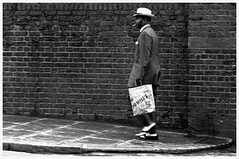 Man in a Zoot Suit, Great Western Road, 1968 c Charlie Phillips