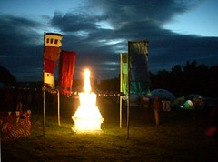 Stupa at evening 4