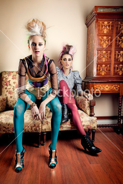 istockphoto_11886706-punk-girls-in-a-retro-living-room