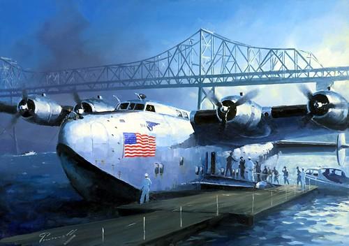 Boeing 314 Clipper par Lucio Perinotto