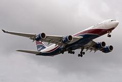 CS-TFX A340-541 (Irish251) Tags: uk england london airport heathrow airbus lhr a340 egll hifly a345 a340500 arikair cstfx