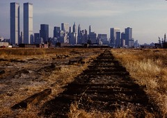WTC 7 (stevensiegel260) Tags: world nyc newyorkcity railroad newyork abandoned train newjersey jerseycity worldtradecenter center wtc trade libertystatepark