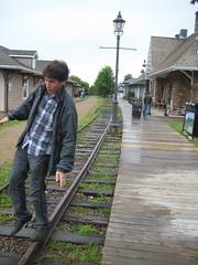 Dom et le train