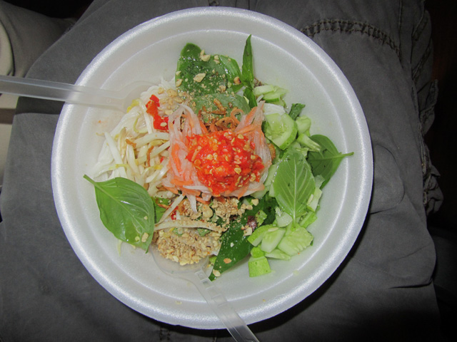 Vietnamese Noodles and Herbs