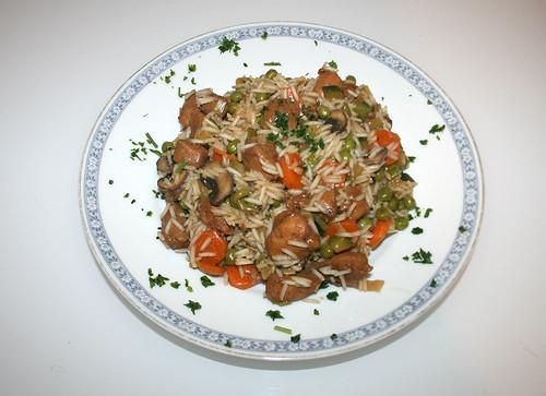 37 - Ingwer-Hähnchenpfanne / Ginger chicken stew - Fertiges-Gericht