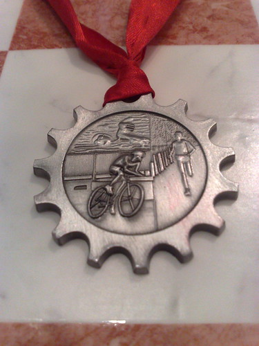 Norwich Olympic Distance Triathlon Medal 2011