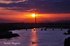 The Cat Flap (imeldalaura) Tags: bridge sunset water river nikon catflap d90 riversuir carrickcameraclub carrickcameraclubmember