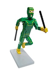 Kick-Ass (Ochre Jelly) Tags: comics movie lego superhero planb kickass nicolascage chlo moretz hitgirl