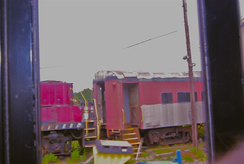 Junked trains
