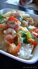.Shrimp & Rice (11) Tags: rice egg shrimp homemade donburi