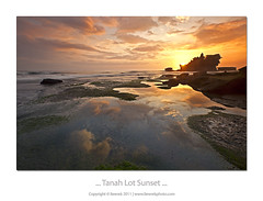 ... Tanah Lot Sunset ... (liewwk - www.liewwkphoto.com) Tags: ocean sunset bali sun reflection water rock set canon indonesia landscape island temple coast seaside sand view dusk salt lot surface formation lee malaysia beast filters kuta tanahlot tanah mii tanahlottemple mark2  9s gnd 1635l nd8 leefilter graduatedneutraldensity 5dmark2 canon5dm2 liewwk httpliewwkmacroblogspotcom wwwliewwkphotocom  wwwliewwkphotocomblog liewwknature