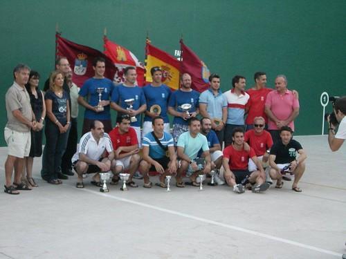 Foto de grupo de los premiados