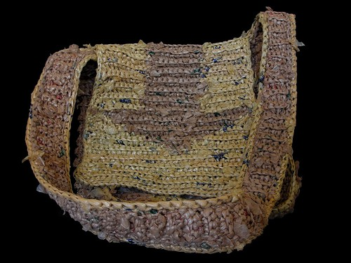 Crochet Plarn Messenger Bag