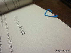 DIY bookmark @ home, pune (black_coffee_blue_jeans) Tags: paper death book diy do hand mark it clip made jed yourself bookmark instinct the rubenfeld