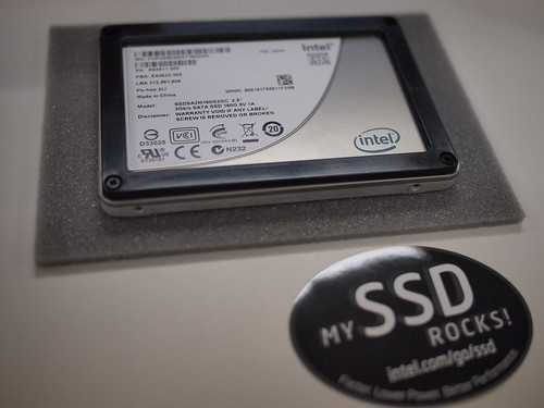 Intel SSD X25-M 160GB (会社用)