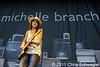 Michelle Branch @ Meadow Brook Music Festival, Rochester Hills, MI - 07-17-11