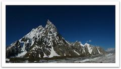 mitre peak, pakistan 6,010 m (19,718 ft) (TARIQ HAMEED SULEMANI) Tags: autumn pakistan mountains tourism nature trekking hiking concordia mitre tariq skardu astore concordians sulemani